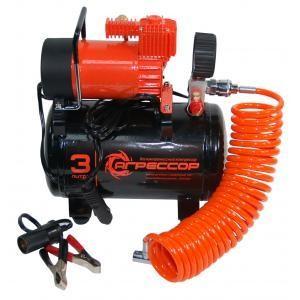 Агрессор компрессор с ресивером на 3 л, 35 л/мин