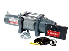 Электрическая лебедка ComeUp DHC - 1600, 24V, 0.7т (усиленная, для подъема грузов)