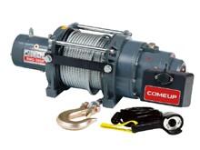 Электрическая лебедка ComeUp DHC - 3000, 1.4т (усиленная, для подъема грузов)