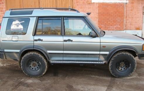 Ojeep 05.300.01 пороги силовые на Land Rover Discovery II