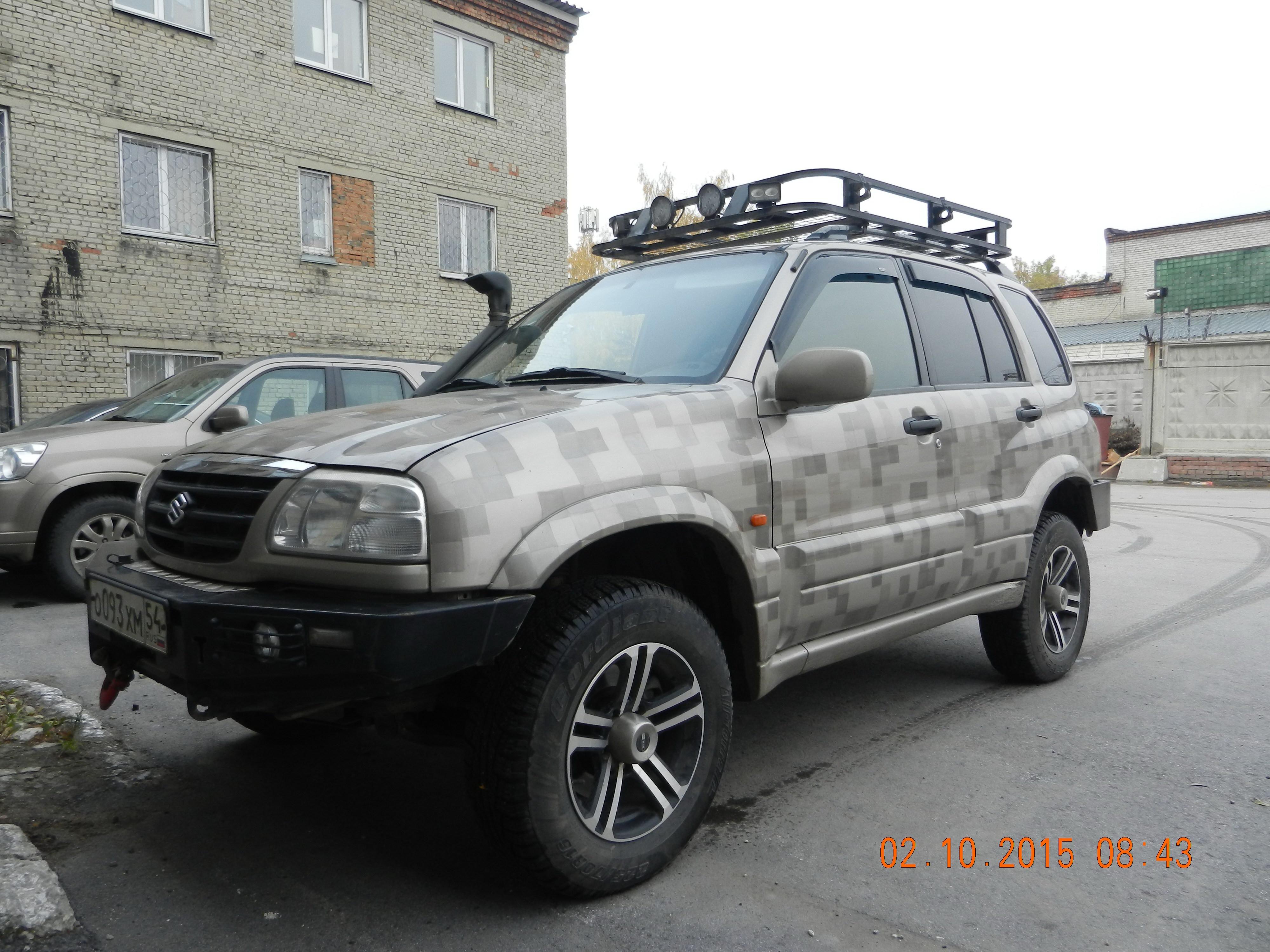 Подготовленный Suzuki Grand Vitara 2.0 MT 4WD, 2004