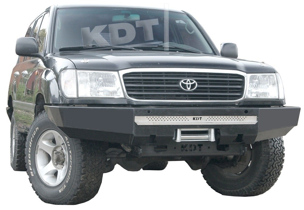 KDT силовой передний бампер без кенгурина Спорт Toyota Land Cruiser 100, 105