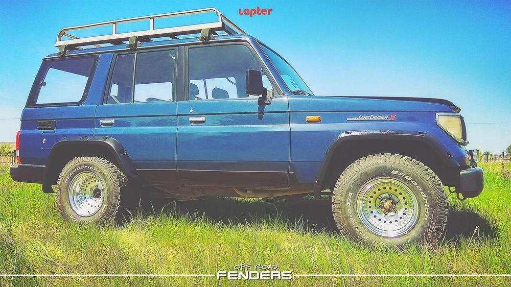 Lapter TLC 79 расширители арок на Toyota Land Cruiser 78/79