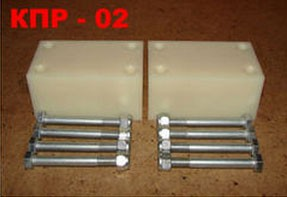 Комплект проставок КПР-02 под рессоры для лифтовки подвески УАЗ на 50 мм