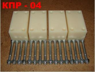 Комплект проставок КПР-04 под рессоры для лифтовки подвески УАЗ на 50 мм