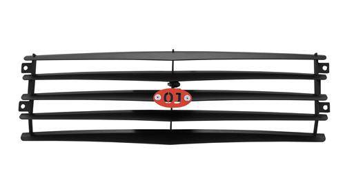 OJeep 12.233.01 решётка защитная радиатора (жалюзи) с кронштейнами и эмблемой на Chevrolet Niva
