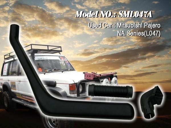 Шноркель SML047A для Mitsubishi Pajero-1 NA L047 (дизель 4D56-T 2.5л-I4/дизель 4D56 2.5л-I4)