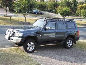Шноркель SNY61D для Nissan Patrol/Safari Y61 (09/2004 - и далее/бензин TB48E 4.8л-I6)