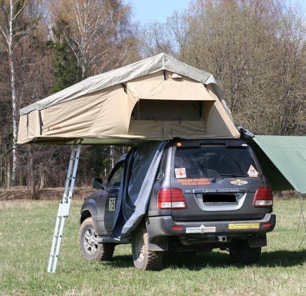 Wincar RT06 автопалатка на крышу автомобиля с козырьком