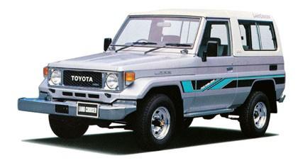 Tough Dog усиленная подвеска на Toyota Land Cruiser 70, 73, 74 серии