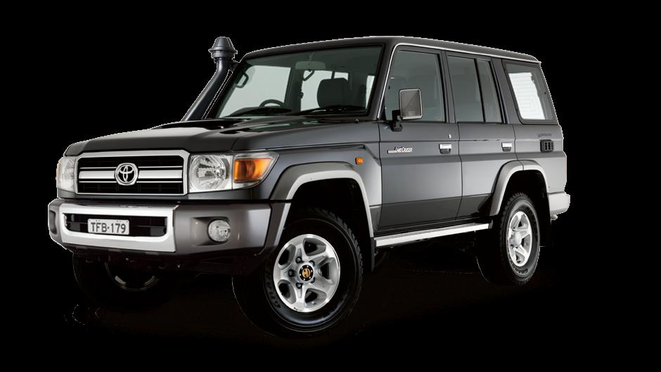 Tough Dog усиленная подвеска на Toyota Land Cruiser 76 серии, V8