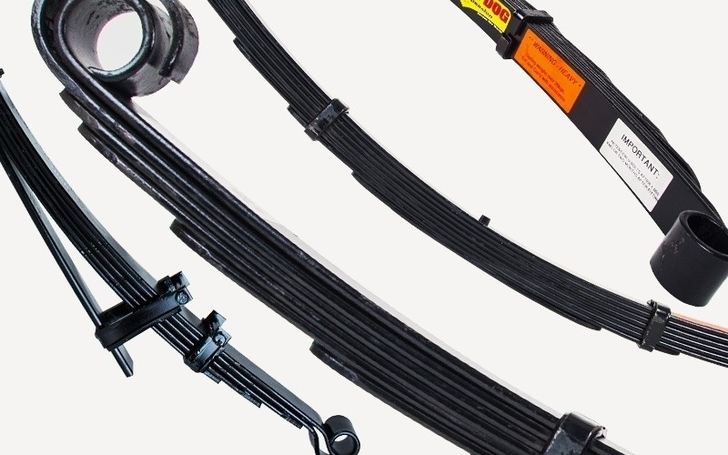 FS781 — задние рессоры средней жесткости (от 300 кг)