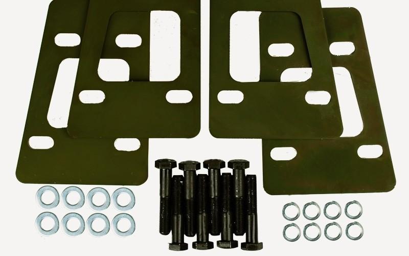 TDSP-004/2 — проставки трансмиссии перед (комплект)