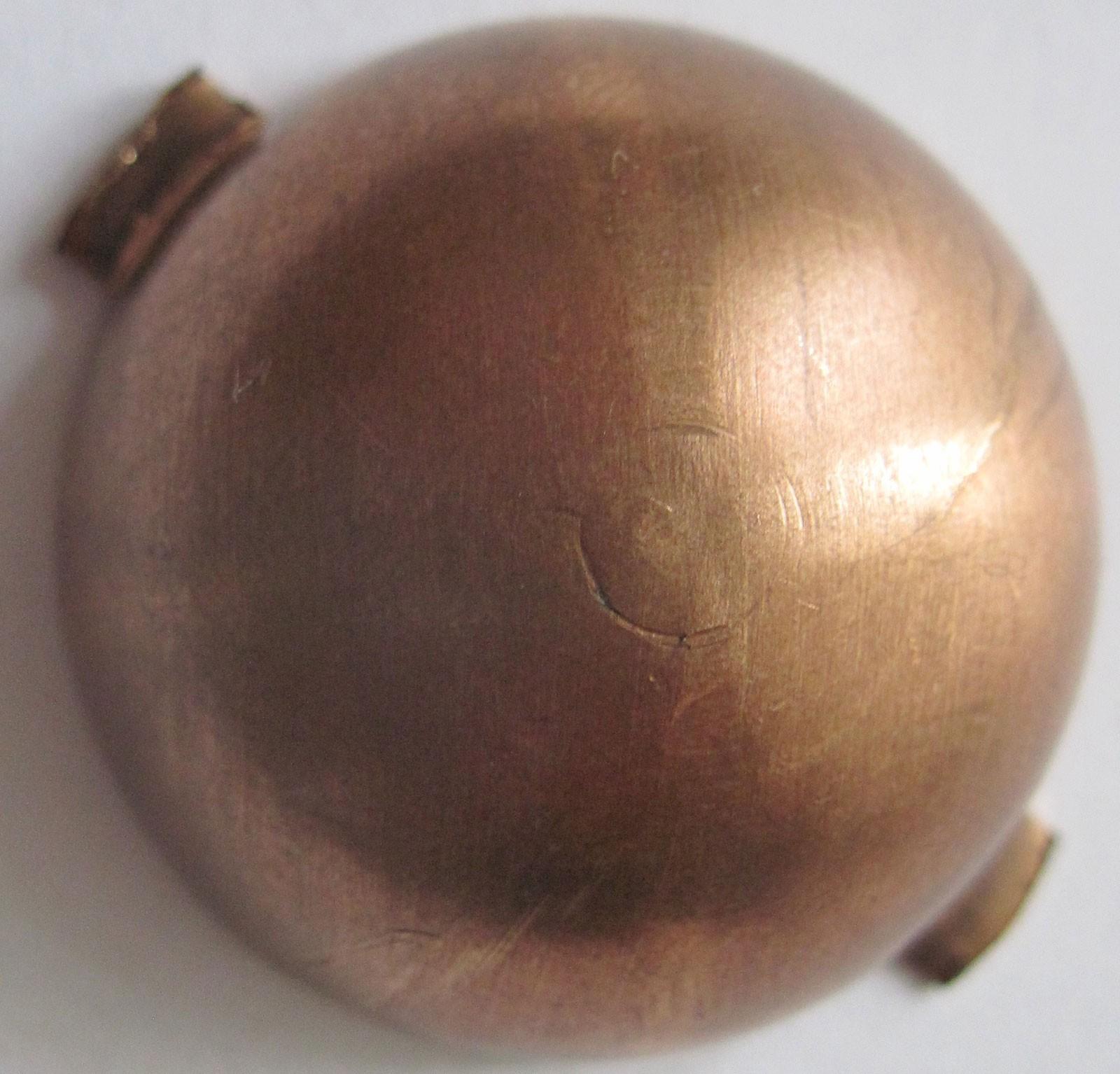 Вкладыш шкворня нового образца бронзовый на УАЗ Хантер, Патриот 2011–