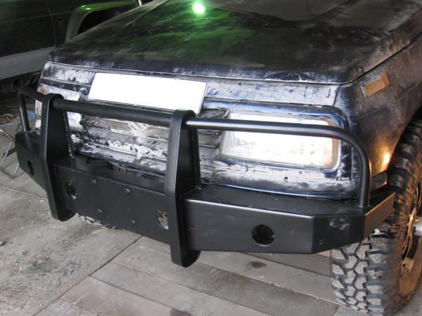 Силовой бампер на Suzuki Escudo