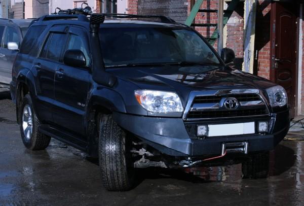 Силовой бампер на Toyota Surf, 4Runner