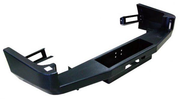 Силовой бампер на Toyota Land Cruiser 80 задний под лебедку