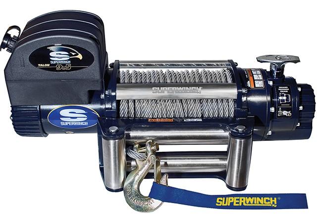 Superwinch лебедка автомобильная TALON 9.5, 4.3 т