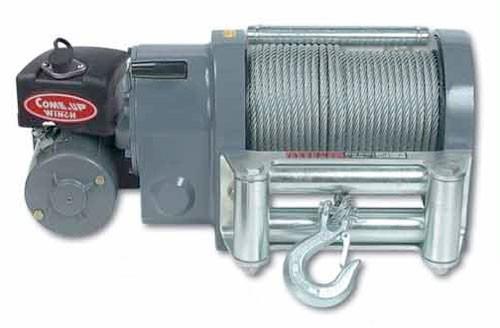 Электрическая лебедка ComeUp WOLF 12.0, 24V, 5.4т, (эвакуаторная)