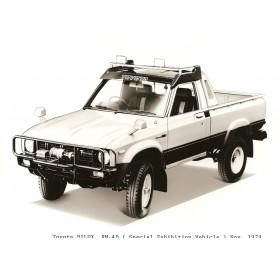 Tough Dog усиленная подвеска на Toyota Hilux с рессорной подвеской