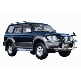 Tough Dog усиленная подвеска на Toyota Land Cruiser Prado 95 серии (длинный)