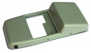 Консоль потолочная для установки р/c Mitsubishi L200/Pajero Sport без выреза под р/c, серая