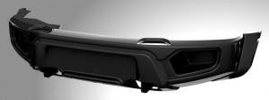 ABC-Дизайн ABC.UAZ.FB.01 композитный передний силовой бампер на УАЗ Патриот/Пикап/Карго 2005- лифт, без оптики