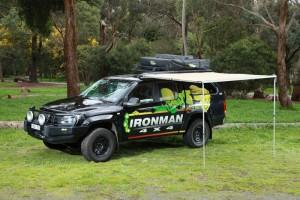 Ironman IAWNING005L тент автомобильный со светодиодной подсветкой 250 x 250см