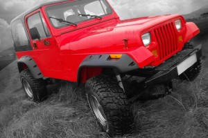 Lapter JR расширители арок на Jeep Wrangler YJ