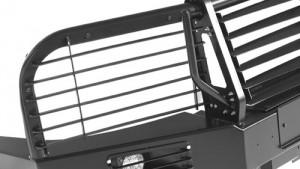 OJeep 12.011.01 комплект решёток защитных основных фар (2 шт) на УАЗ Патриот, УАЗ Пикап, Toyota Land Cruiser  80, 105