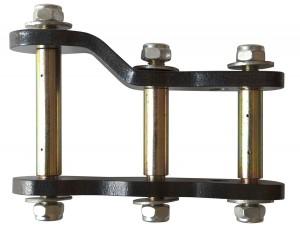Telawei серьга задней рессоры удлиненная и усиленная Nissan Navara D40
