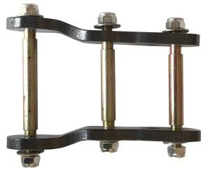 Telawei серьга задней рессоры удлиненная и усиленная Mitsubishi L200 2005-2015