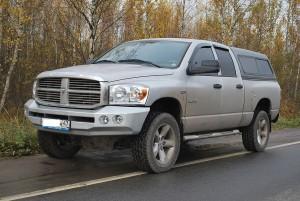 Тамерлан силовой бампер Dodge Ram передний