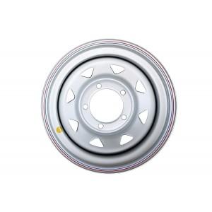 Диск усиленный УАЗ стальной серебристый 5x139,7 8xR15 d110 ET-19 (треуг. мелкий)