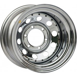 Диск усиленный Toyota / Nissan стальной хромированный 6x139,7 8xR15 d110 ET-19