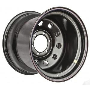 Диск усиленный Toyota / Nissan стальной черный 6x139.7 12xR16 d110 ET-55