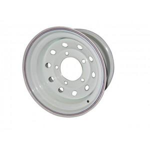 Диск усиленный Mersedes стальной белый 5x130 8xR16 ET-0