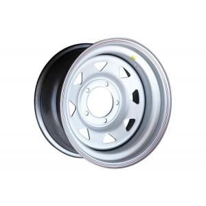 Диск усиленный УАЗ стальной серебристый 5x139,7 8xR16 d110 ET-19 (треуг. мелкий)