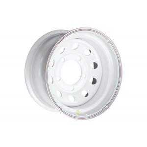 Диск усиленный Land Rover стальной белый 5x165.1 8xR16 d125 ET-24