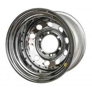 Диск усиленный Toyota / Nissan стальной хромированный 6x139,7 8xR17 d110 ET-10
