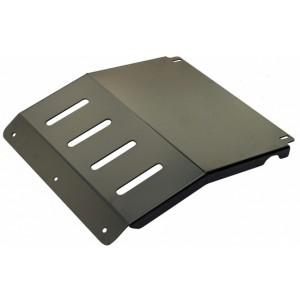 РИФ защита радиатора L200 NEW под бампер РИФ(сталь)