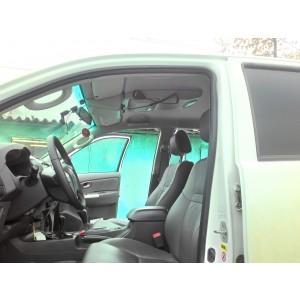Консоль потолочная для установки р/c Toyota Hilux, вырез под р/c 140х40 мм, серая