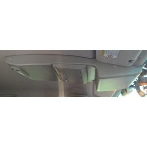 Консоль потолочная для установки р/c Toyota Hilux 2005-2014, без выреза под р/c, серая