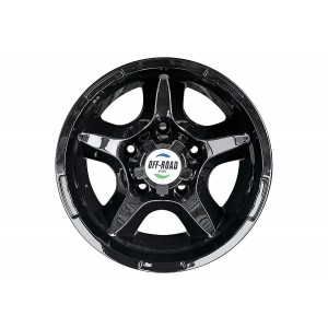 Диск УАЗ литой черный 5x139,7 8xR15 d108,2 ET-27