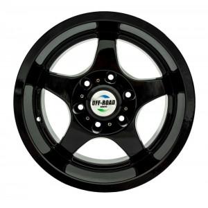Диск Toyota / Nissan литой черный 6x139,7 10xR16 d110 ET-44