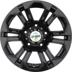 Диск УАЗ литой черный 5x139,7 7,5xR16 d110 ET+10