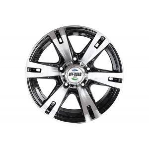 Диск УАЗ литой черный 5x139,7 8xR16 d110 ET-20