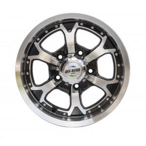 Диск УАЗ литой черный 5x139,7 8xR16 d110 ET+10