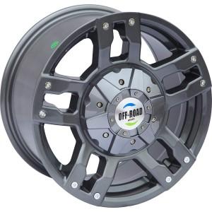 Диск Toyota / Nissan литой серый 6x139,7 8xR16 d110 ET+10