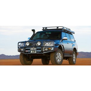 ARB 3413190 силовой передний бампер Deluxe на Toyota Land Cruiser 100 (2002-2007)